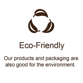 Our mission is to make skincare products that are eco friendly that are good for the environment . We design our packaging to be plastic free.