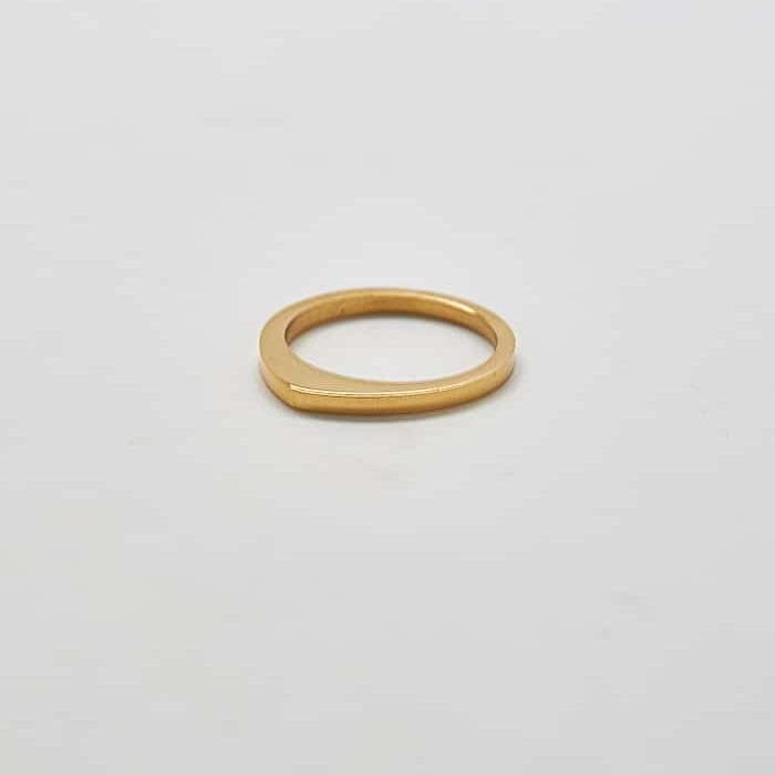 Gold Point Gold Ring