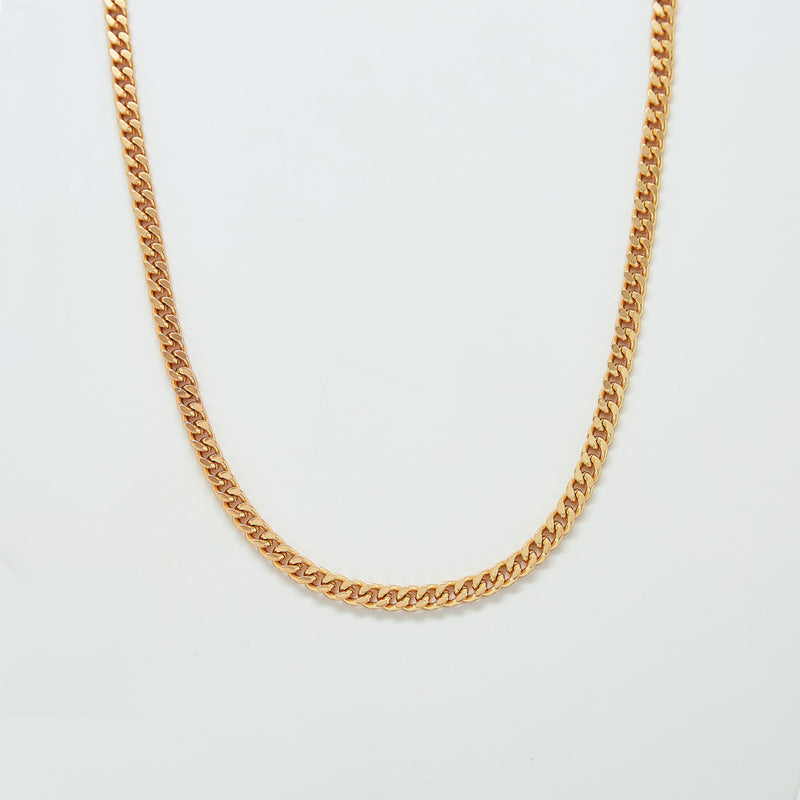 Gold Linked Necklace