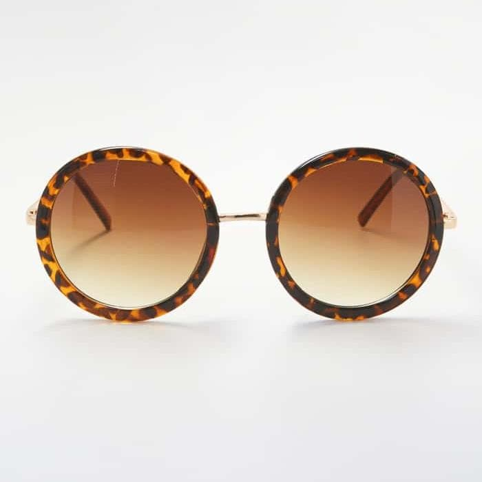 Leopard Retro Sunglasses