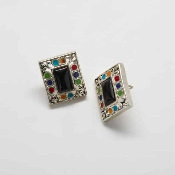 Vintage Mosaic Earrings