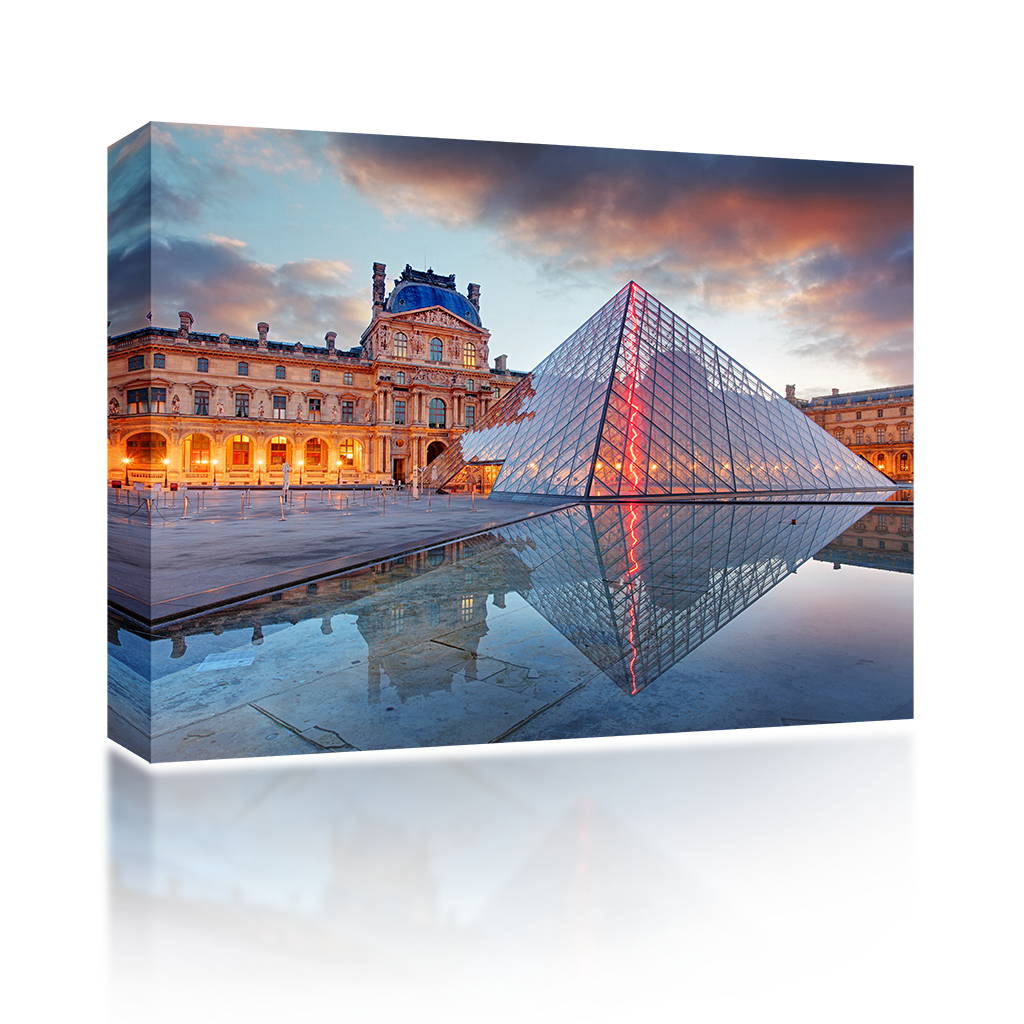 Louvre Reflection