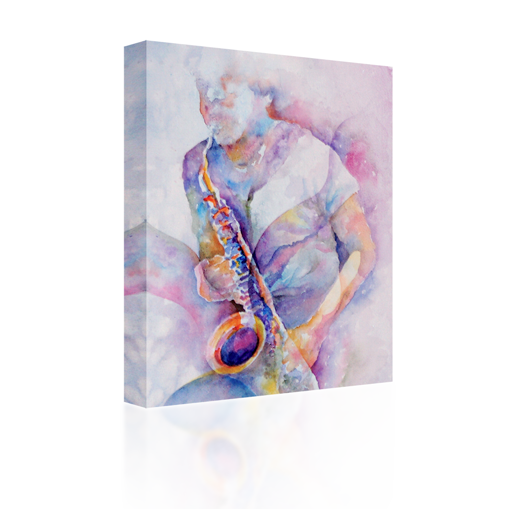 Waves of Saxophone