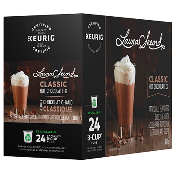 Chocolat Chaud Laura Secord 24 cups