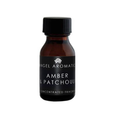 Amber and Patchouli 15ml Oil (wholesale)-Wholesale-Angel Aromatics