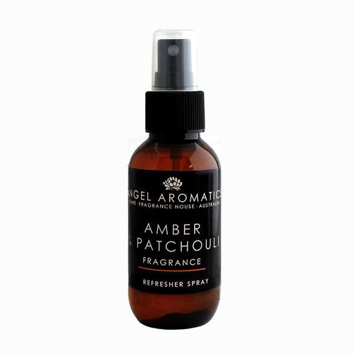 Amber and Patchouli Refresher Spray (wholesale)-Refresher-Angel Aromatics