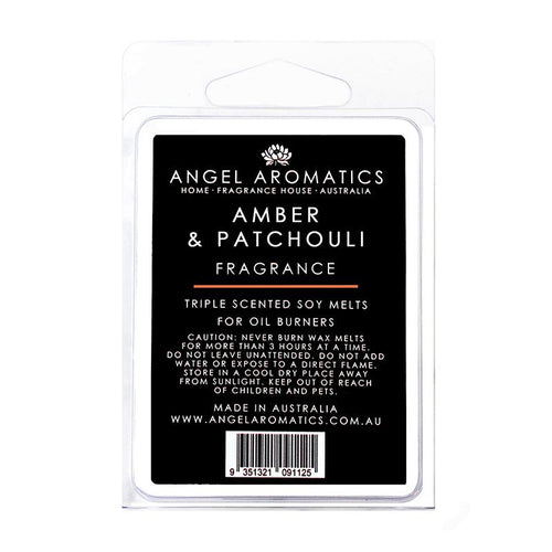 Amber and Patchouli Soy melts (wholesale) (As low as $6.55)-Soy Melts-Angel Aromatics