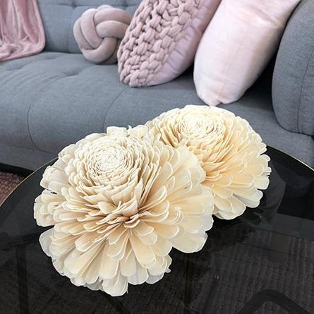 Ivory Giant Zulu Flower (wholesale)-Wholesale Flowers-Angel Aromatics