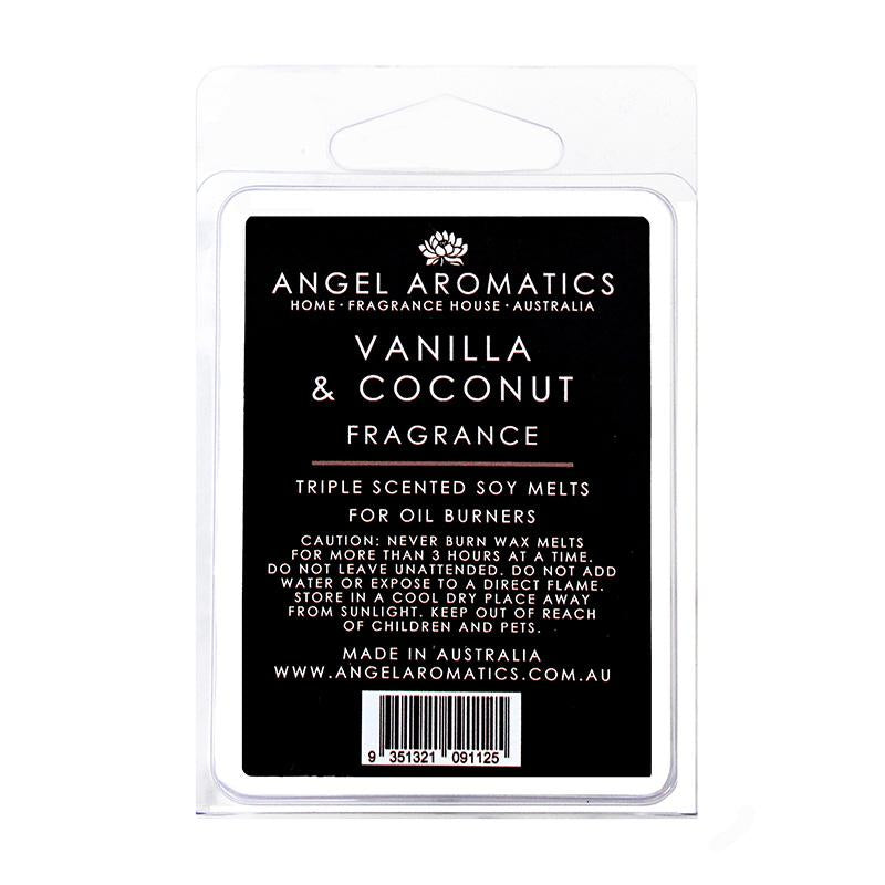 Vanilla Coconut Soy melts (wholesale) (As low as $6.55)-Soy Melts-Angel Aromatics