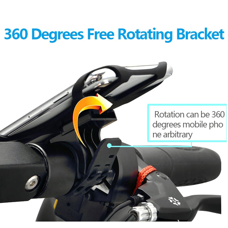 360 Degree Rotating Bicycle Phone Holder