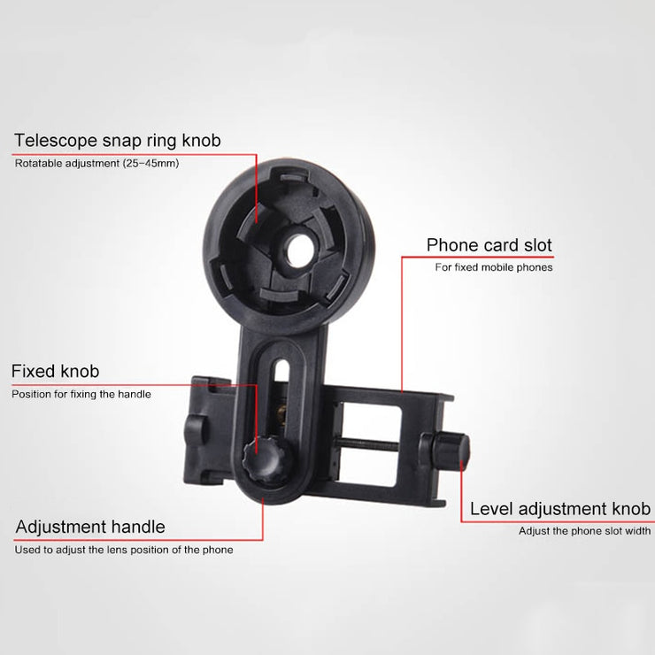 Universal Cell Phone Adapter Clip