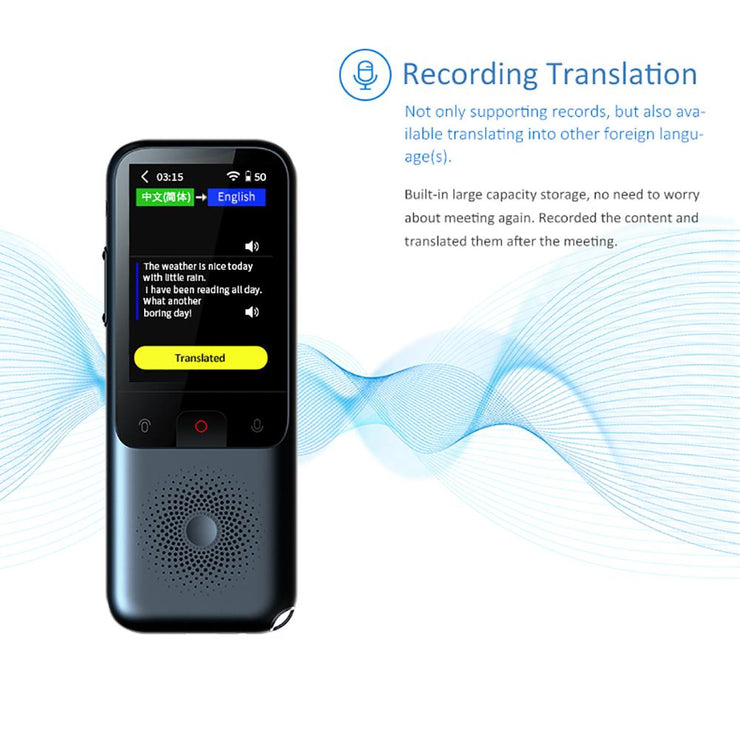 Instant Offline Voice Translator