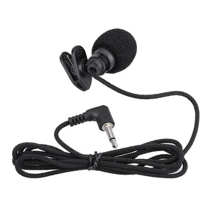 Hands-free Clip-on Lapel Condenser Microphone with 3.5mm Jack - myhomelyoffice.com