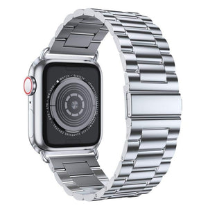 Luxury Stainless Steel Strap and Case For Apple Watch - myhomelyoffice.com