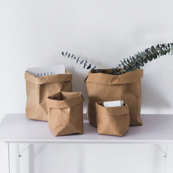 Nordic Kraft Paper Bags - myhomelyoffice.com