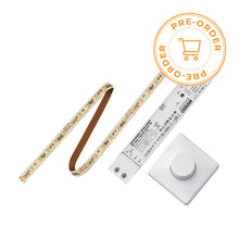 Load image into Gallery viewer, OSRAM LINEARLIGHT FLEX LED STRIP w/ OTI DALI CONSTANT CURRENT DRIVER & MCU DALI TW ROTARY SWITCH (2700K-6500K/TUNABLE WHITE)