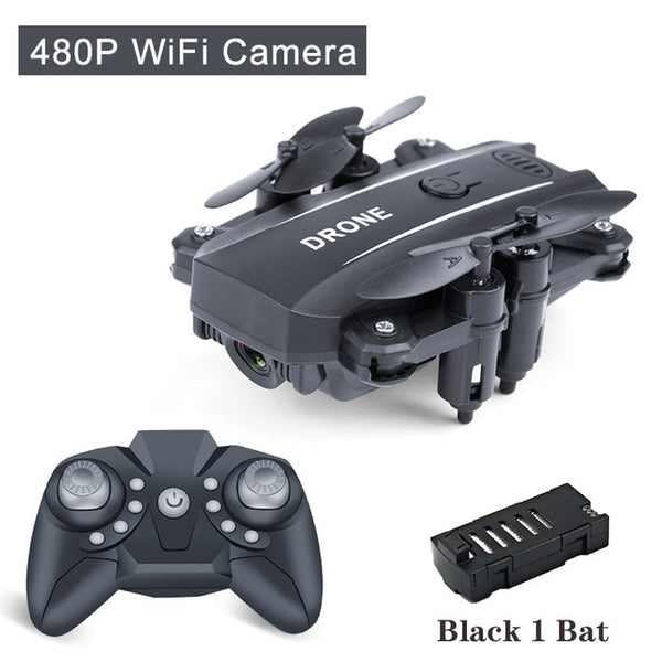 Drone Mini Dron Selfie Camera HD 1080P RC Quadcopter Wifi FPV Dron Foldable Altitude Hold RC Helicopter Drones Professional Toy