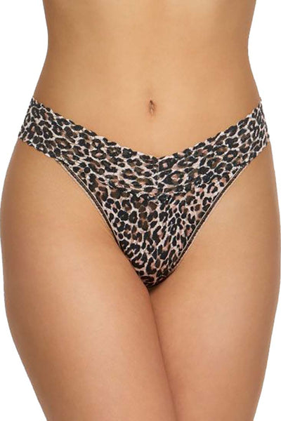 Hanky Panky - Classic Leopard OR Thong - Lingerie - {{variant_option_1}} - {{variant_option_2}} - Petticoat Lane