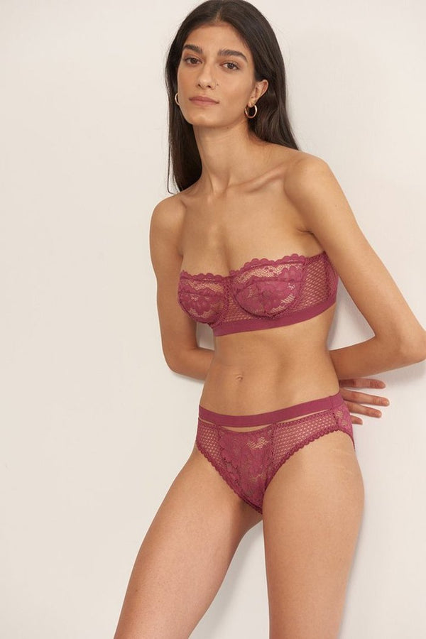 Petunia Bikini Brief in Orchid