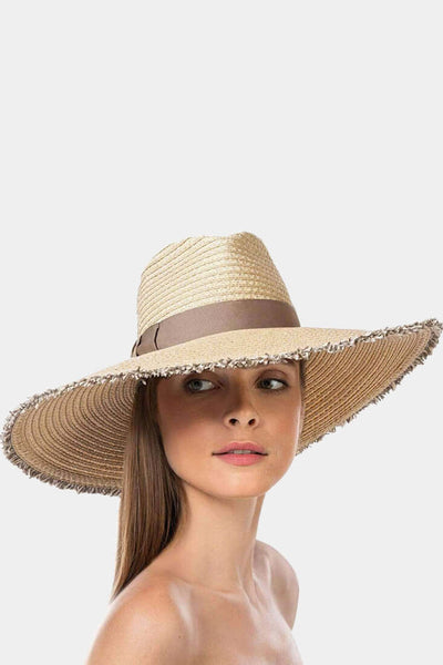 Eric Javits - Caroline Hat - Accessories - Flax Mix -  - Petticoat Lane