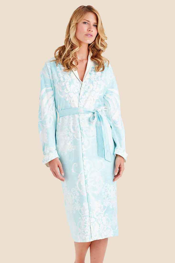 Romantic Blue Long Robe