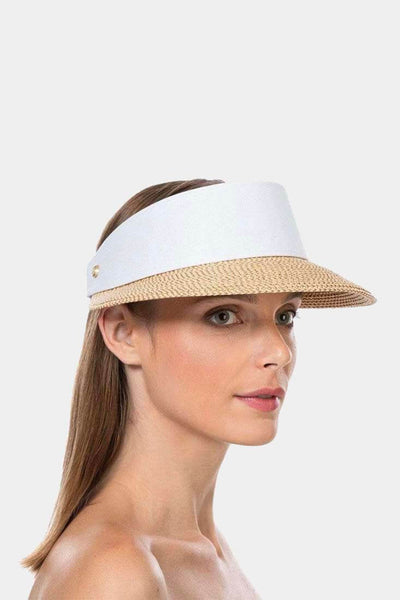 Eric Javits - Champ Visor Hat - Accessories -  -  - Petticoat Lane