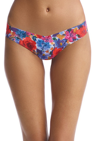 Commando - Print thong - Lingerie - Painted Bloom - M/L - Petticoat Lane