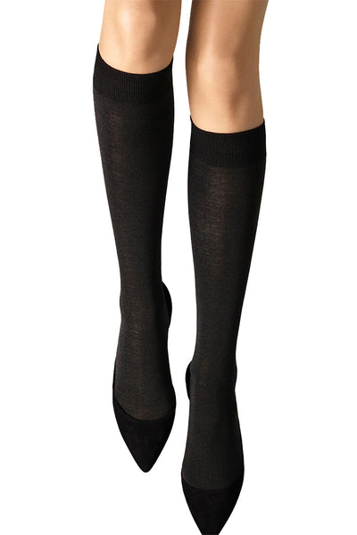 Wolford - Merino Knee High - Hosiery -  -  - Petticoat Lane