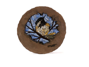Cindy Laneville - Mosaic Artist cookies My Little Blue Chickadee