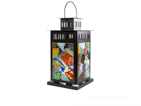 Cindy Laneville - Mosaic Artist Lanterns Put a little abstract in your life!