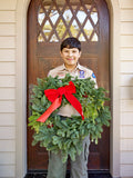 Large Mixed Evergreen Wreath (W3)