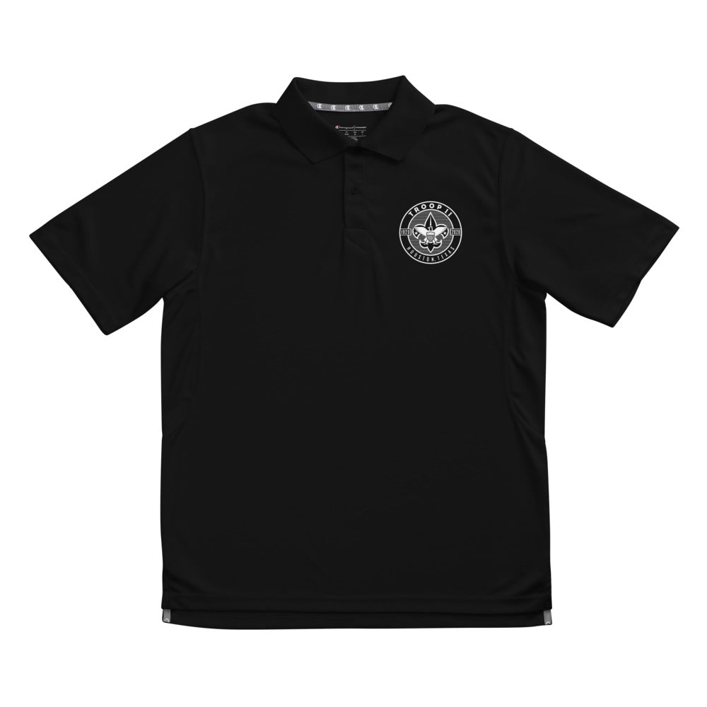 Men's Champion performance polo for Troop 11 Leaders