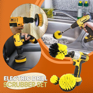 Power Scrubber Brush Set (3pcs in 1 set)