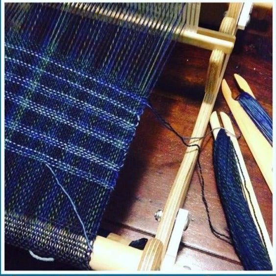 Beginning Weaving on a Rigid Heddle Loom