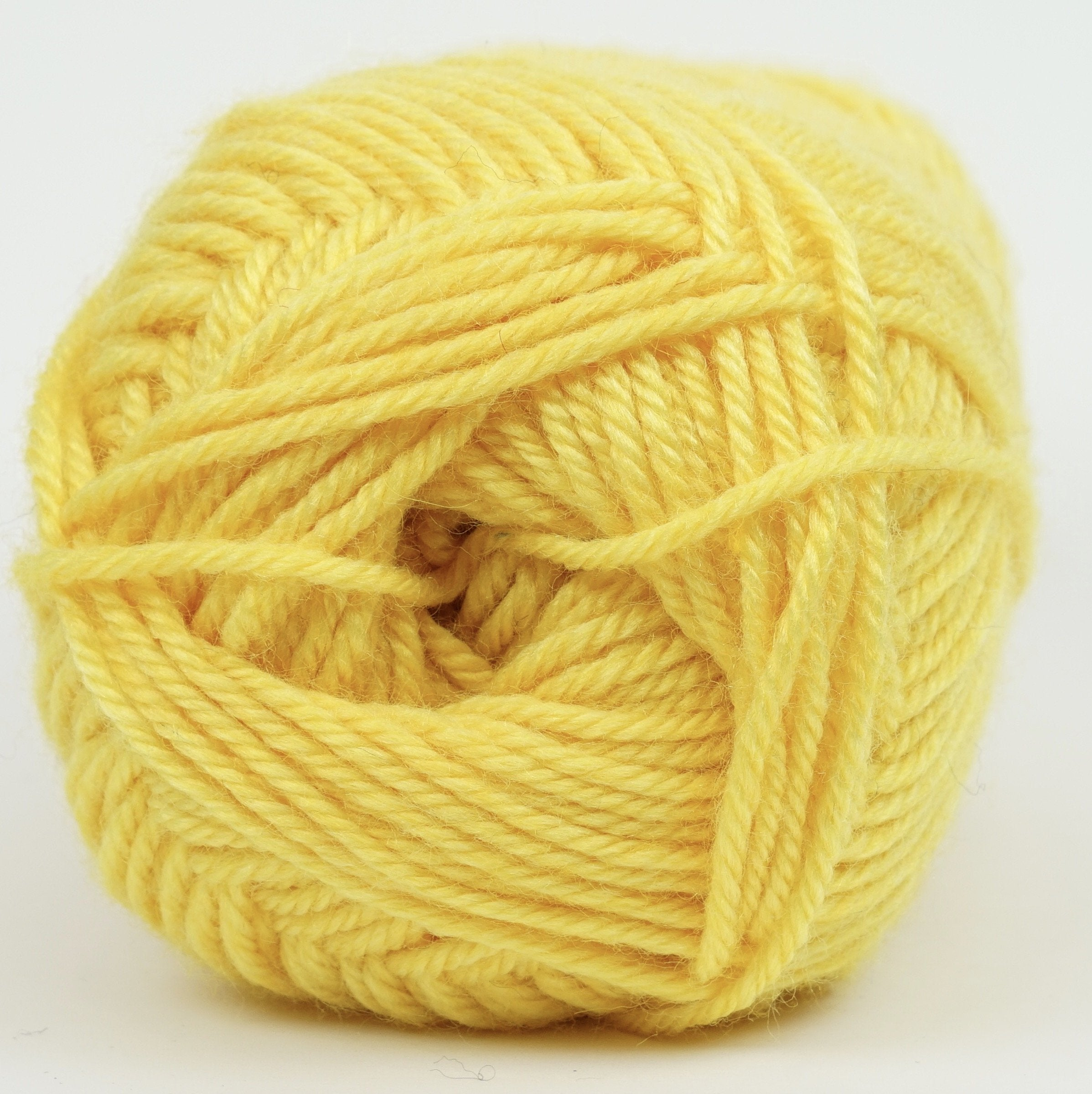 Kraemer Perfection Worsted Canary Yellow