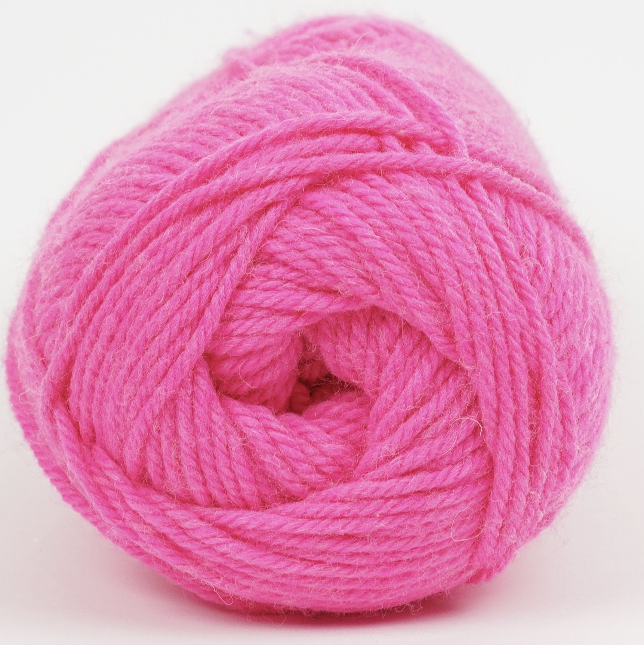 Kraemer Perfection Worsted Kiss Me Hot Pink Neon