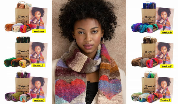 Noro Heart Scarf Kit