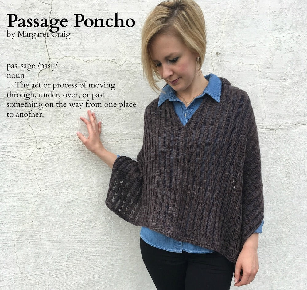 Heidi & Lana - Passage Poncho Kit