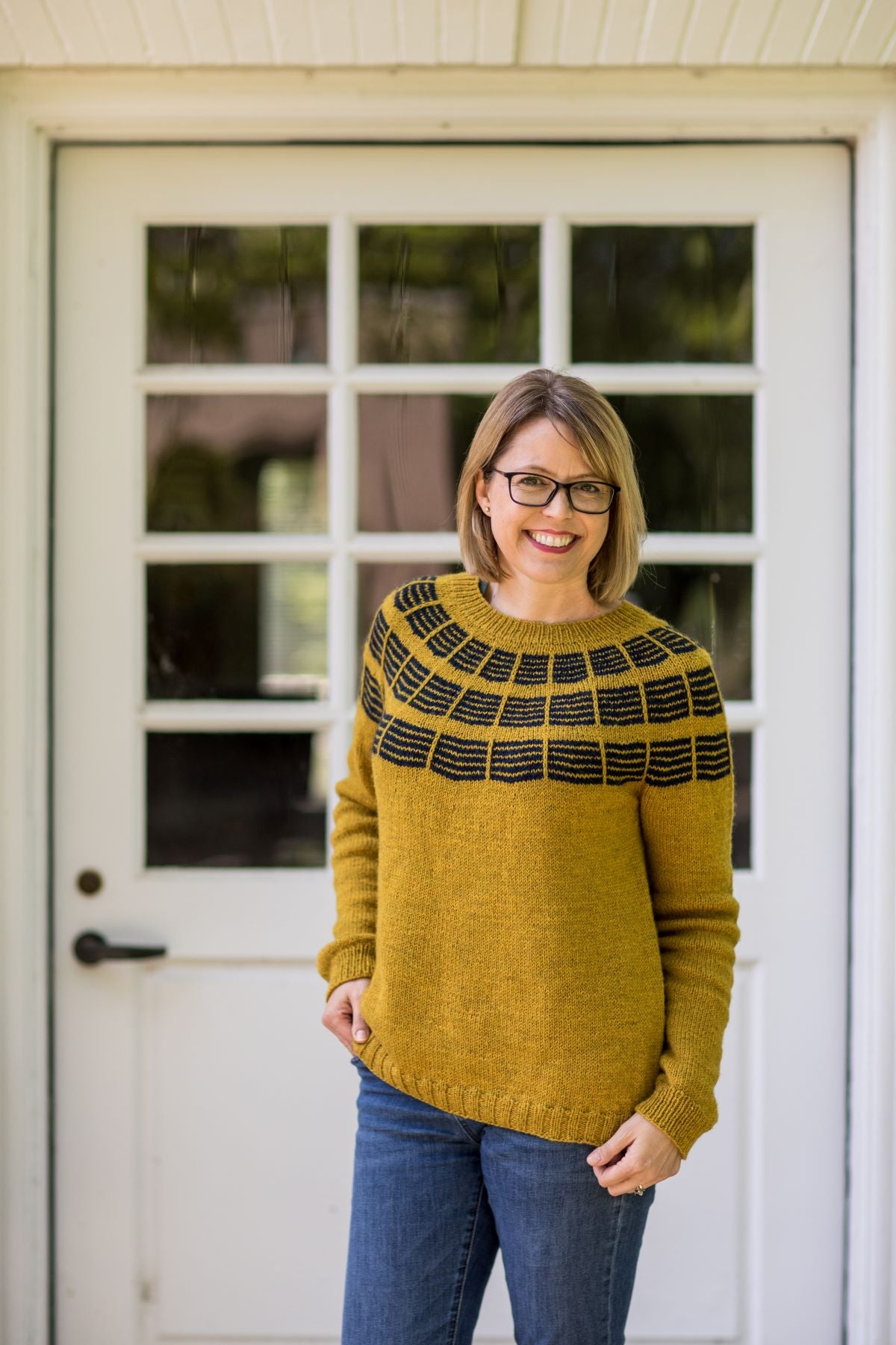 Olive Knits 4-Day Sweater KAL