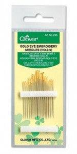 Clover Gold Eye Needles