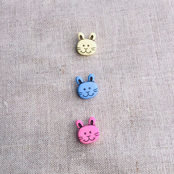Bunny Face Buttons