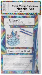 Punch Needle Embroidery Needle Set