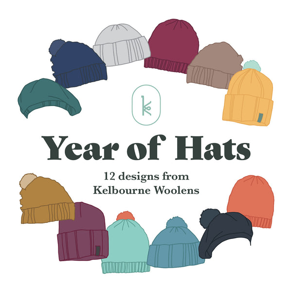 Kelbourne Woolens Year of Hats Kit