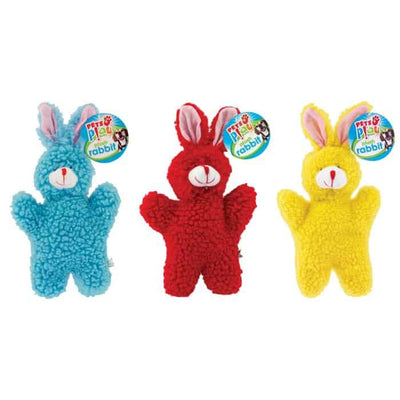 Pets At Play Soft Fluffy Squeaky Toy Set Of 3