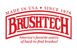 The Fingertip and Hard Clean-Up Accelerator Sponge Brush | Brushtechbrushes