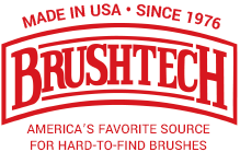 DELUXE NON-ABRASIVE PORCELAIN BBQ RACK CLEANER | Brushtech Brushes Inc. - America's #1 Source for all Specialty and Hard-To-Find Brushes - Buy Direct and Save! | Brushtechbrushes