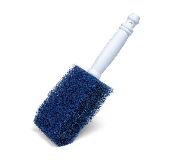 POWERFUL, NON-ABRASIVE BRUSH FOR DISHES, POTS, PANS & MICROWAVES
