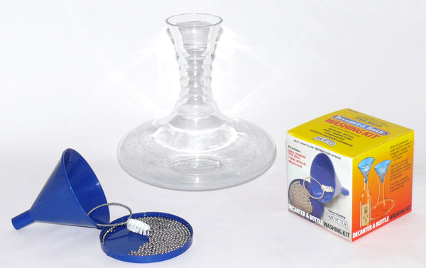 DECANTER & BOTTLE WASHING KIT