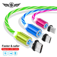 [NEW] Glowing Fast Charging Magnetic USB Cable Wire