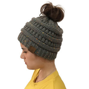 [NEW] Stylish Warm Ponytail Beanie